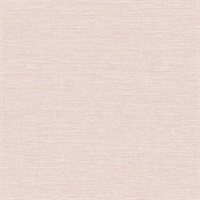 Tiverton Blush Faux Grasscloth Wallpaper