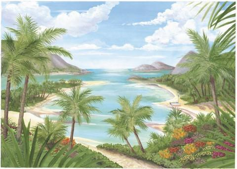 Tropical Beach - Wall Mural