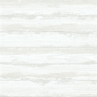 Truro Bone Weathered Shiplap Wallpaper