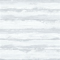 Truro Grey Weathered Shiplap Wallpaper