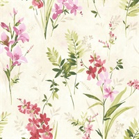 Turner Multicolor Watercolor Floral Wallpaper