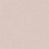 Tweed Pink Faux Fabric Wallpaper
