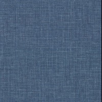Upton Indigo Faux Linen Wallpaper