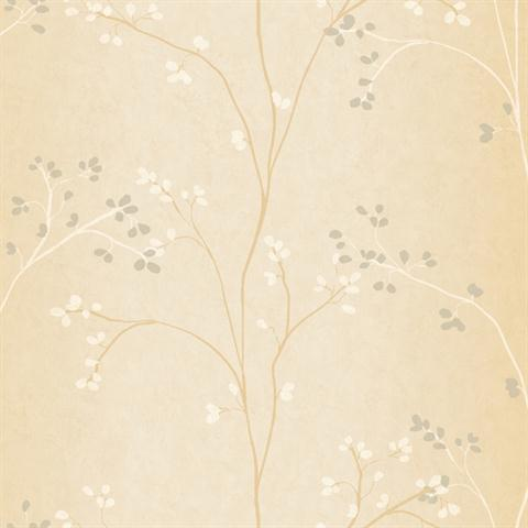 Classic Vertical Blossoms Floral