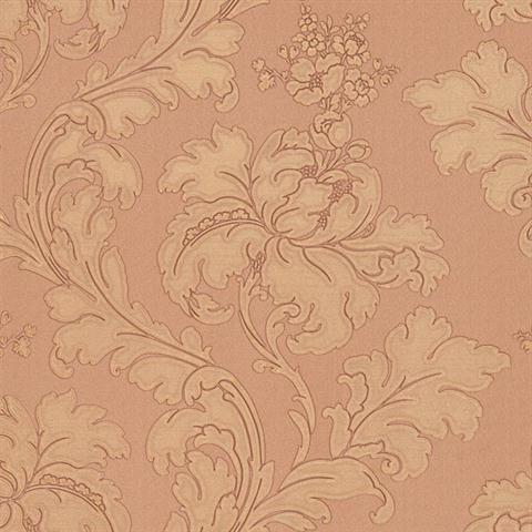 Vitale Embossed Leafy Scroll