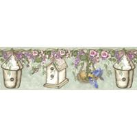 Whimsical Birdhouse Floral