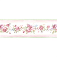 White Wedding Wallpaper Border