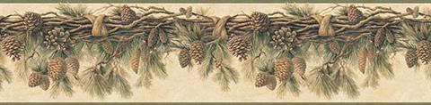 Wyola Pinecone Forest Border