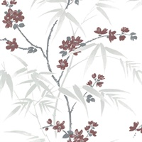 Yoshino White Cherry Blossom Wallpaper